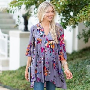 Influenced By Florals Dress: Mint Julep Boutique